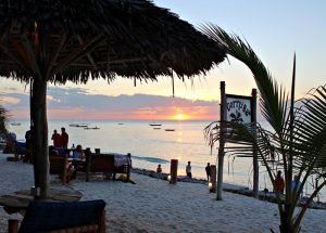 Sunset Views at Gerry's Bar Zanzibar