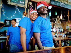 Gerry's Bar Zanzibar Team